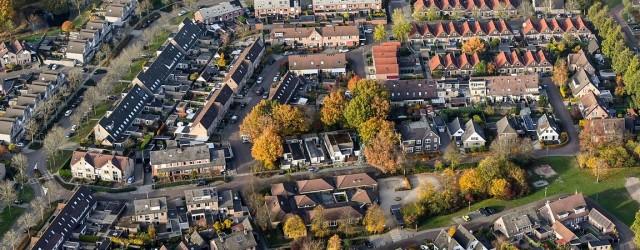 Woonwijk 't Hul in Nunspeet tijdens de herfst. ID6756